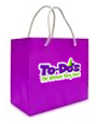 To-Dos Purple Shopping Bag