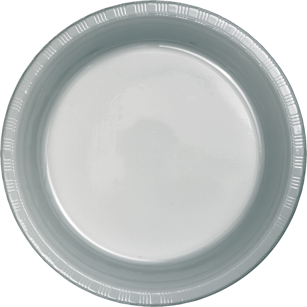 Shimmering Silver 7 Inch Plastic Plates. u003e  sc 1 st  To-Dou0027s the Ultimate Party Store & To-Dou0027s the Ultimate Party Store Shimmering Silver 7 Inch Plastic ...