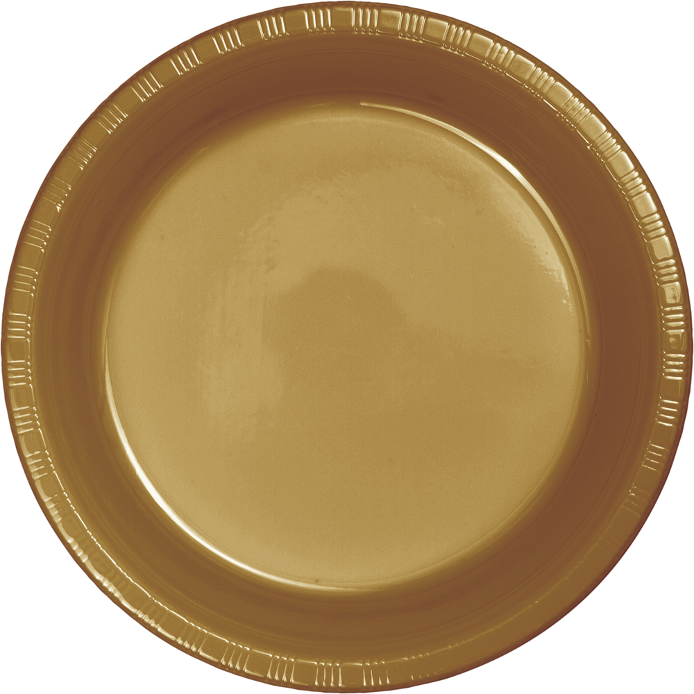 Glittering Gold 7 inch plastic plate. u003e  sc 1 st  To-Dou0027s the Ultimate Party Store & To-Dou0027s the Ultimate Party Store Glittering Gold 7 inch plastic plate