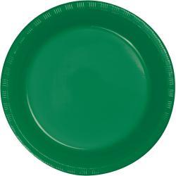 Emerald Green 7 inch plastic plate