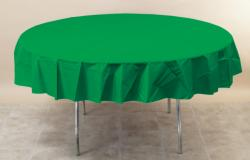 Emerald Green 82 inch octy round tablecover
