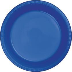 Cobalt Blue 10 1/4 inch plastic plate