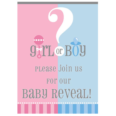 To Do S The Ultimate Party Store Gender Reveal Invitations