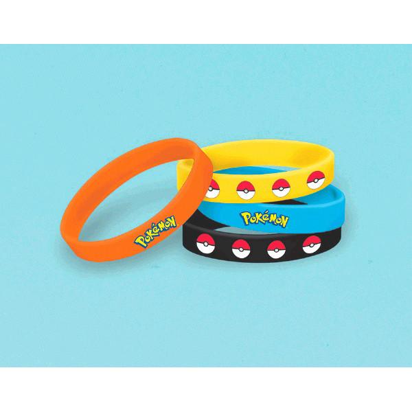 Pokemon Rubber Bracelets