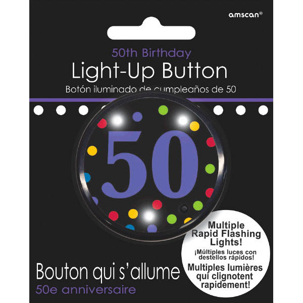 To-Do's, The Ultimate Party Store 50th Birthday Light-Up