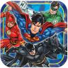 Justice League 9 in Square Plates
