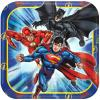 Justice League 7in Square Plates