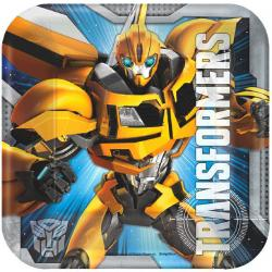 Transformers 7in Square Plates